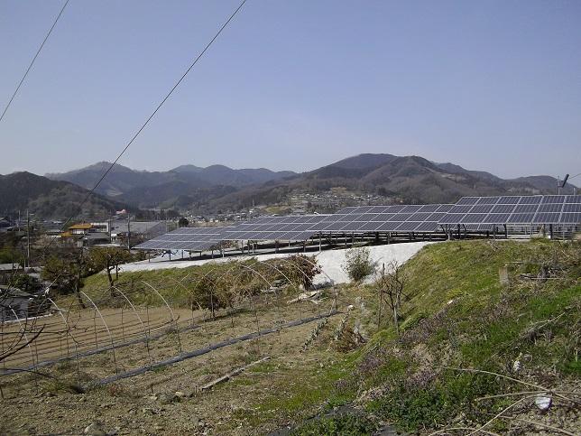 太陽光パネル(フェンス無し①)