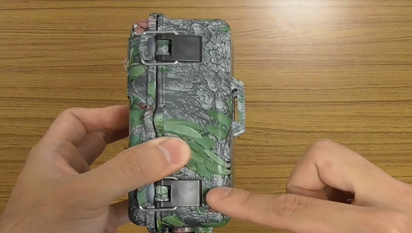 乾電池式防犯カメラのブログ写真③